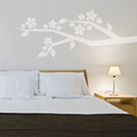 Bursting Blossom Branch wall sticker