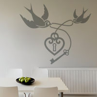 Forever Together wall sticker