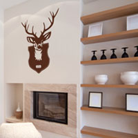 O Deer wall sticker