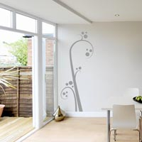 Stalk & Dots wall sticker